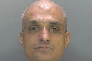 Drug dealer from Bedford reached for axe while being arrested