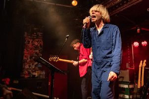 Tim Burgess at Esquires. Picture: David Jackson