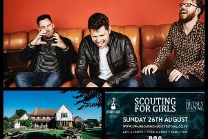 Scouting For Girls will headline BetseyFest