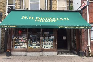 HH Dickman and Son Pharmacy in Berkhamsted