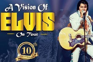 A Vision of Elvis at Aylesbury Waterside