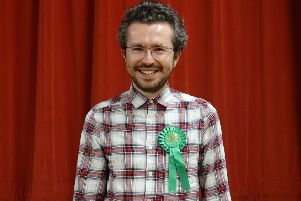 Tom Pashby, Green Party prospective parliamentary candidate