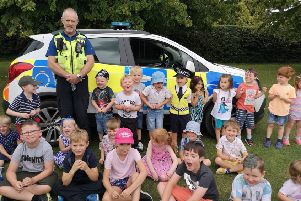Hertfordshire Police make four-year-old's birthday an arresting experience