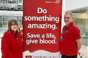 Blood donor drive
