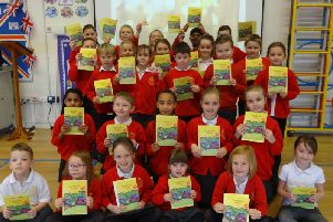 St Mary Magdalene children sent money to CAFOD at Christmas