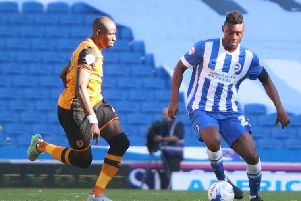 Rohan Ince in action for Brighton. Picture: Angela Brinkhurst