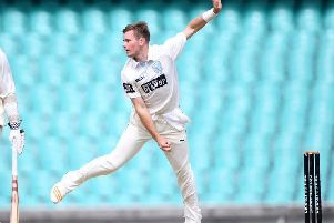 Mason Crane in action for New South Wales earlier this year.