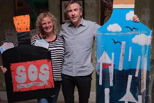 Picture by Tarquin Boyesen. Steve Coogan is supporting Save Our Schools campaigners.