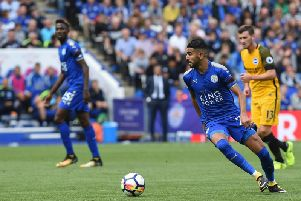 Leicester City's Riyard Mahrez. Picture by PW Sporting Pics