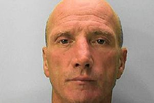 Police are offering a 500 reward for information leading to the arrest and conviction of Bexhill man Nigel Fry.