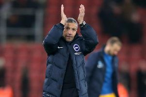 Albion boss Chris Hughton. Picture by Phil Westlake (PW Sporting Photography)