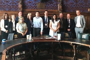 Representatives of head teachers from schools across the county, as well as the County Education Department, came to Parliament SUS-180524-123955001
