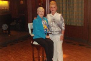 Dodie Tombs with Shirley Jones