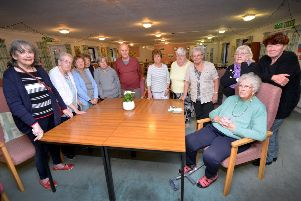 Some of the residents of Thalia House, Bexhill, pictured. SUS-181120-151407001