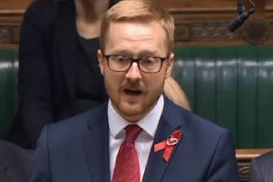 Lloyd Russell-Moyle speaking in the Commons