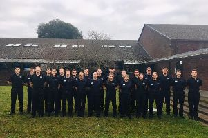 Recruits from West Sussex, East Sussex and Surrey start the joint training course for wholetime firefighters
