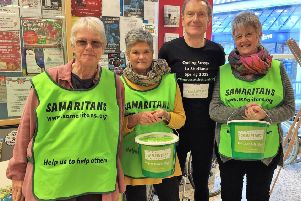 Samaritans hosting events to appeal to new volunteers