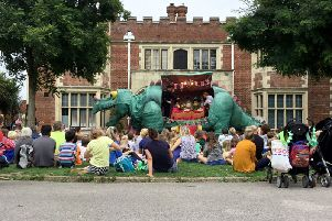 Flashback to Dino Day, one of the many events held at Hastings Museum and Art Gallery