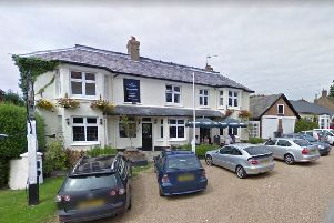 The Chequers in Slaugham pictured when it was a pub in 2009. Photo courtesy of Google