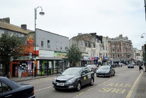 The incident happenned in Queens Road, Hastings
