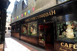 Choccywoccydoodah in Meeting House Lane, Brighton