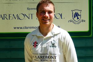 Nick Taylor top-scored for Crowhurst Park against Keymer & Hassocks