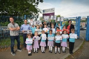 Parents and pupils at the Blacklands Academy are calling for a safe crossing in St Helen's Park Road