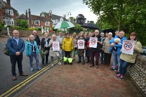 Concerned residents in Bexhill Old Town calling for traffic calming measures. SUS-190619-120733001