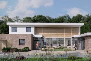 An artists' impression of The Hub at Rye Hill