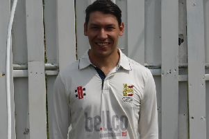 Ricardo De Nobrega scored his maiden Hastings Priory Cricket Club hundred against St James's Montefiore