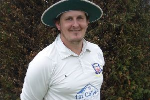 Bexhill Cricket Club captain Johnathan Haffenden
