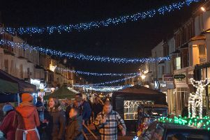 Bexhill Christmas lights switch-on ceremony in 2017. Photo by Frank Copper. SUS-170212-121858001