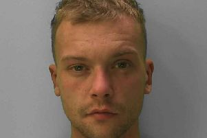 Luke Smith. Picture supplied by Sussex Police