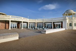 The Colonnade in Bexhill. SUS-190401-112703001
