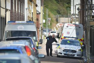 Police have been in Caves Road, St Leonards, since Friday morning