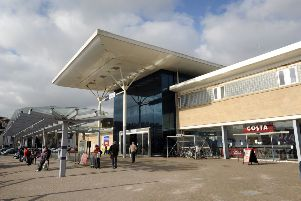 Emergency services were called to Hastings station