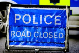 The A29 was closed in both directions following the collision. Picture: Steve Robards