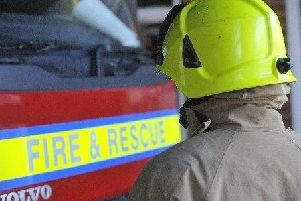 The A259 is blocked due to a crash
