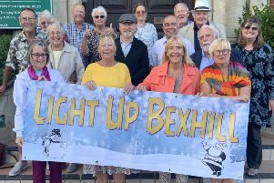Light Up Bexhill members and supporters Photo by Sam Coleman. SUS-191017-094204001