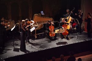 The HEMF Baroque Ensemble at the Concert by Candlelight