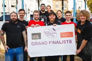 Sussex Street Food of the Year Grand Finalists 2020 - Mann & Moore, Pizza Leonati & The BBQ Project (Photograph: Toby Philips)