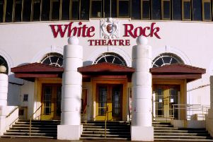 White Rock Theatre in Hastings SUS-180924-105701001