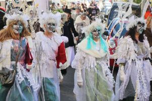 St Leonards Frost Fair. Photo by Roberts Photographic SUS-171126-132108001