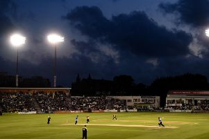 The Vitality Blast match between Sussex Sharks and Essex Eagles at The 1st Central County Ground on August 6. Picture courtesy of Getty Images
