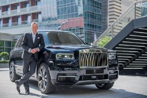 TORSTEN MULLER-OTVOS, CHIEF EXECUTIVE OFFICER, ROLLS-ROYCE MOTOR CARS WITH ROLLS-ROYCE CULLINAN