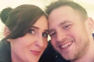 Anthony Knott and fiancee Lucy Otto. Photo courtesy of family