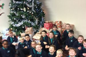 Hastings pupils Help homeless charity spread festive cheer