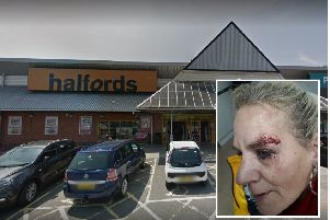 Staff at Halfords at Ravenside have been praised for helping Claire Errey after she fell of her bike. Picture: Google
