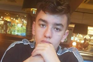 Police are searching for teenager Fraser Gould, who has been reported missing from Crawley Down.
