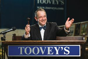 Rupert Toovey at his auction house